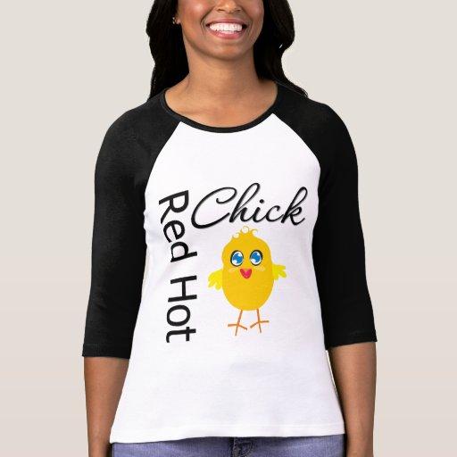 Polluelo candente 3 camiseta