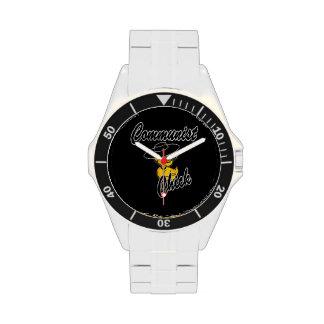 Polluelo comunista #4 relojes de pulsera