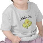 Polluelo cristiano camisetas