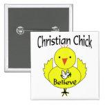 Polluelo cristiano pin