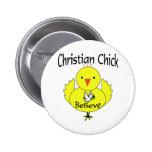 Polluelo cristiano pins