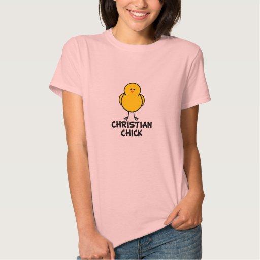 Polluelo cristiano tee shirt