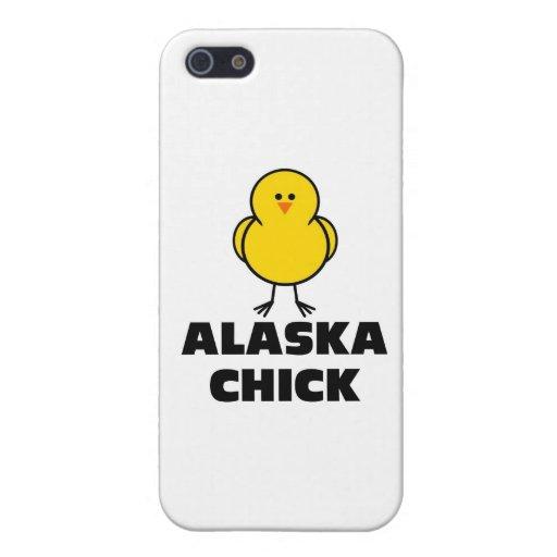 Polluelo de Alaska iPhone 5 Fundas