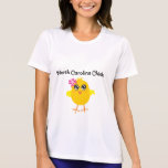 Polluelo de Carolina del Norte Camiseta