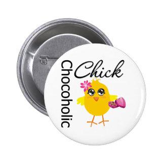 Polluelo de Chocoholic Pin Redondo 5 Cm