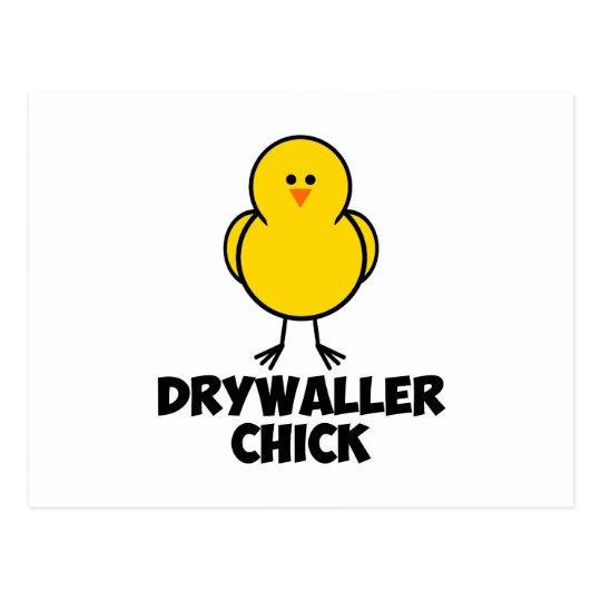 Polluelo de Drywaller Postales