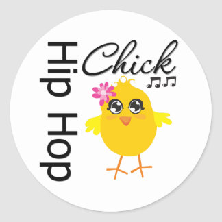 Polluelo de Hip Hop Etiquetas