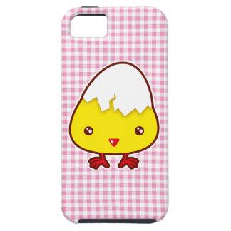 Polluelo de Kawaii iPhone 5 Carcasas