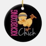 Polluelo de Kickboxing Ornaments Para Arbol De Navidad