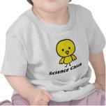 Polluelo de la ciencia camisetas