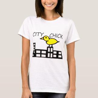 Polluelo de la ciudad playera