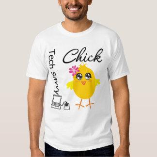 Polluelo de la comprensión de la tecnología camisas