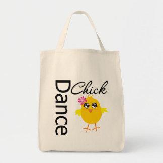 Polluelo de la danza bolsa tela para la compra