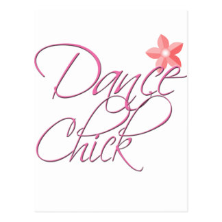 polluelo de la danza tarjeta postal