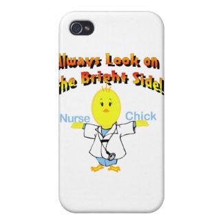 Polluelo de la enfermera iPhone 4 carcasas
