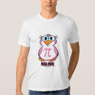 Polluelo de la matemáticas camisas