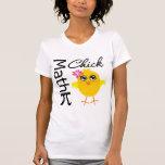 Polluelo de la matemáticas camiseta