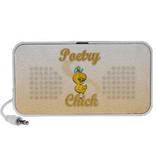 Polluelo de la poesía portátil altavoz