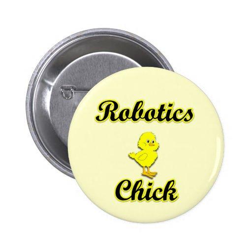 Polluelo de la robótica pin redondo 5 cm