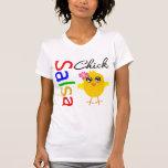 Polluelo de la salsa camiseta