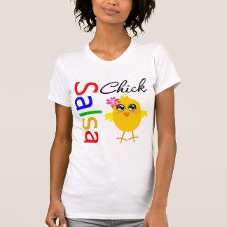 Polluelo de la salsa t-shirts