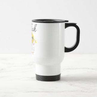 Polluelo de la terapia física tazas de café