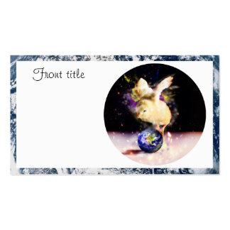 Polluelo de la tierra tarjetas de visita