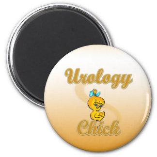 Polluelo de la urología imán de frigorifico