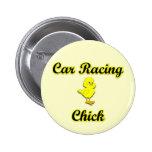 Polluelo de las carreras de coches pins