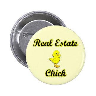 Polluelo de las propiedades inmobiliarias pin redondo de 2 pulgadas