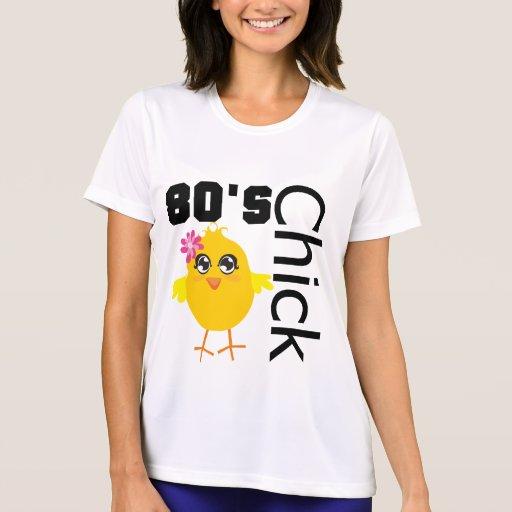 polluelo de los años 80 camisetas