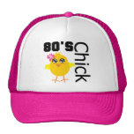polluelo de los años 80 gorros