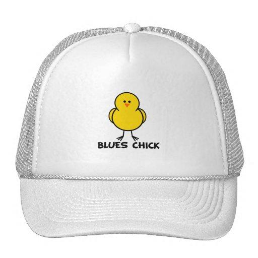 Polluelo de los azules gorras