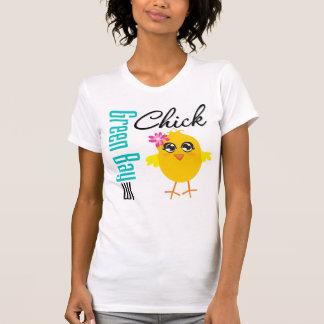 Polluelo de los WI del Green Bay T-shirts