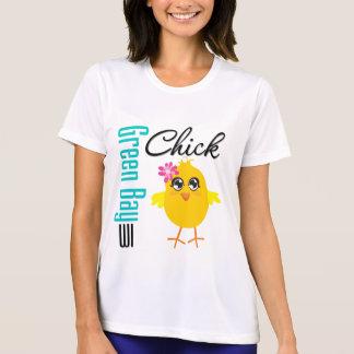 Polluelo de los WI del Green Bay Camisetas