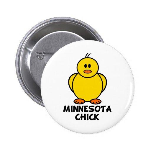 Polluelo de Minnesota Pin Redondo 5 Cm