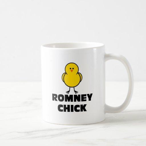 Polluelo de Mitt Romney Tazas