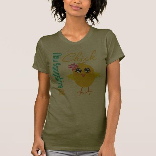 Polluelo de New Hampshire los E.E.U.U. Camiseta