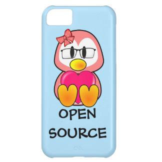 Polluelo de Open Source (mujeres en tecnología de  Carcasa iPhone 5C