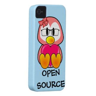 Polluelo de Open Source (mujeres en tecnología de Carcasa Para iPhone 4 De Case-Mate