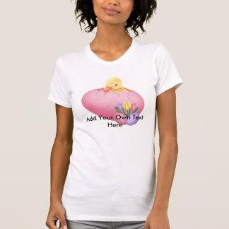Polluelo de Pascua, mujeres básicas Camisetas