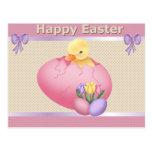 Polluelo de Pascua - postal