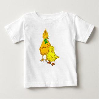 Polluelo de pato pastor de bebé, Ducklings bebé sh Playera