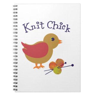 Polluelo de punto cuadernos