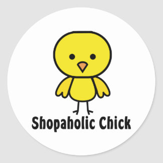 Polluelo de Shopaholic Pegatinas