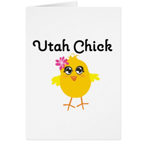 Polluelo de Utah Tarjetón