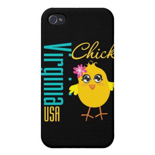 Polluelo de Virginia los E.E.U.U. iPhone 4 Protectores