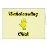 Polluelo de Wakeboarding Felicitaciones