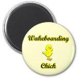Polluelo de Wakeboarding Imanes