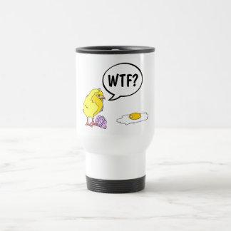 Polluelo de WTF Taza